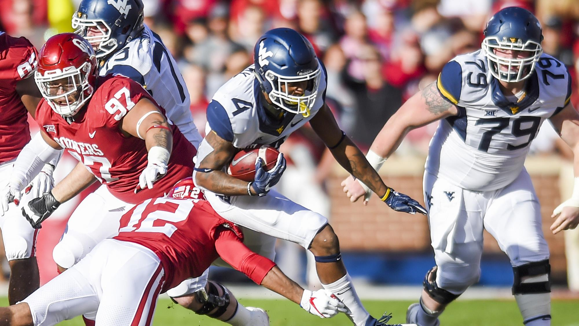 Oklahoma Offense Too Much For WVU