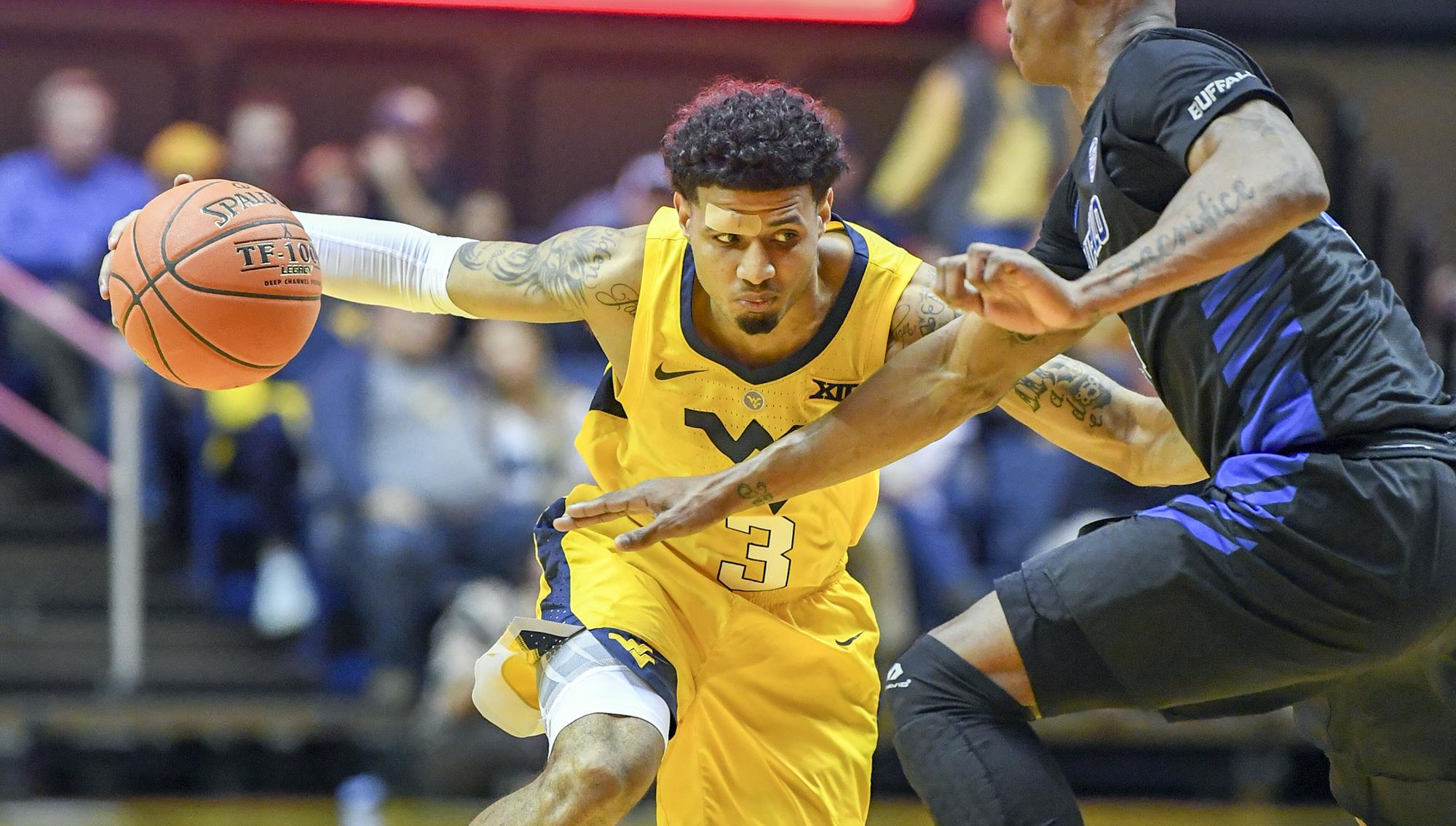 e9a4bd74bf6 Mountaineers Drop Opener In Overtime - West Virginia University ...