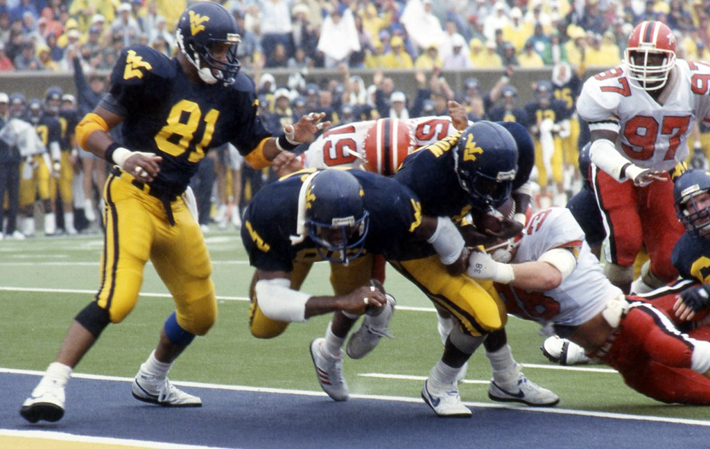 1988 Wvu Football Team Was A True Team West Virginia University