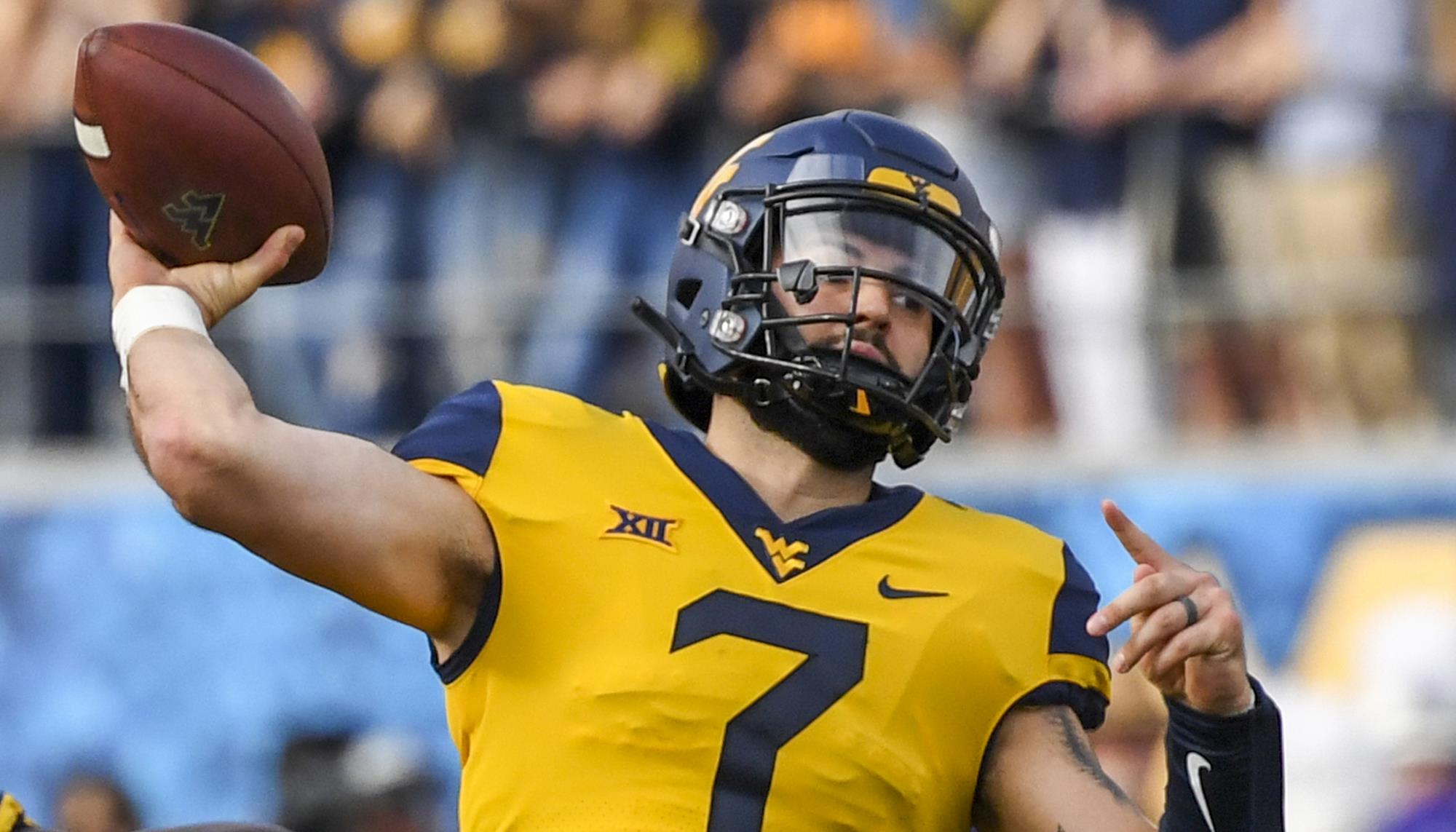 buy online 8f474 9cfc7 Grier to Focus on NFL Draft Preparation - West Virginia ...