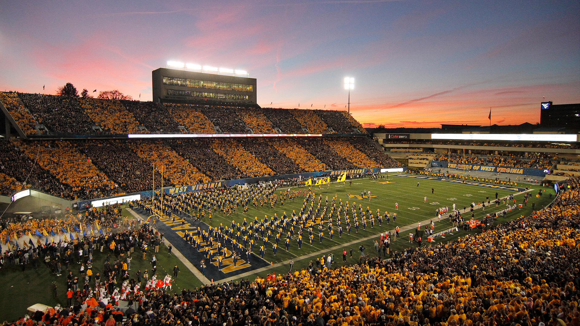 Milan Puskar Stadium - Facilities - West Virginia University Athletics