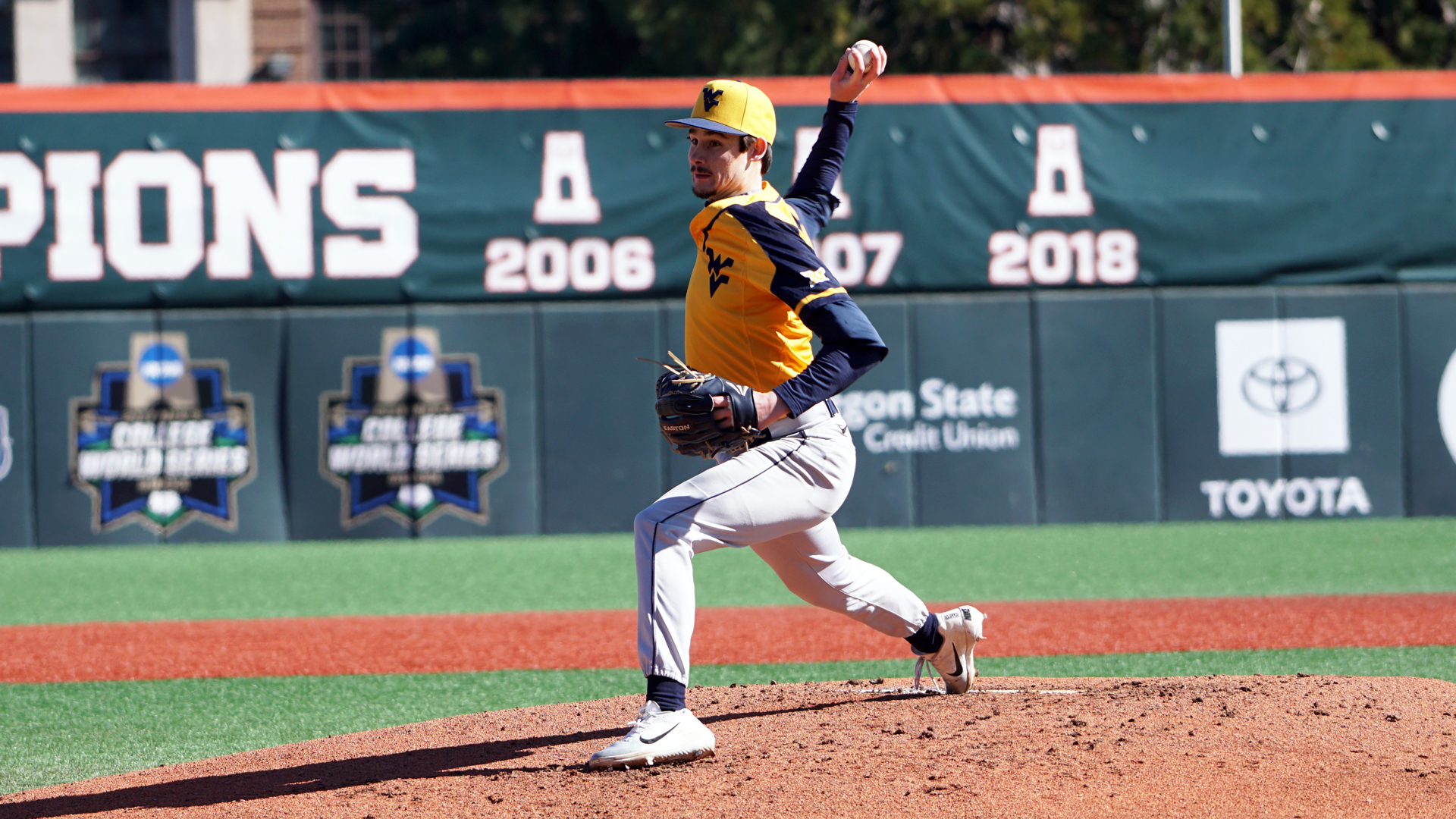 155cdc90c7cce Mountaineers Shut Out No. 3 Oregon State - West Virginia University ...