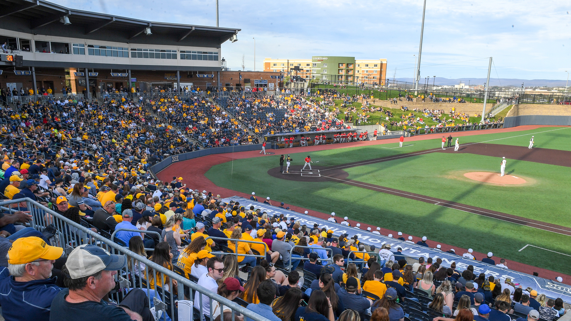 Monongalia County Ballpark - Facilities - West Virginia University